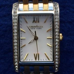 Bulova Caravelle New York Crystal Working Watch
